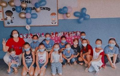 Comemoração do Dia das Crianças nas Escolas do Município