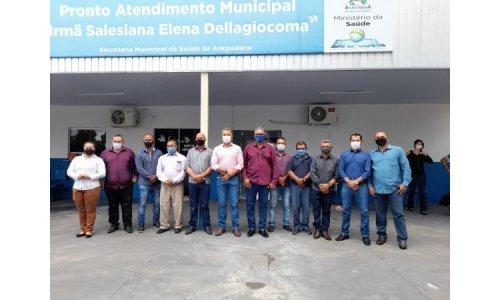 Município de Araguaiana – MT, realiza inauguração de Pronto Atendimento Municipal!